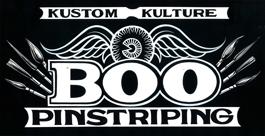 BOO pinstriping